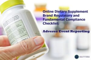 Brand Manufacturer Responsibility, Complaints, Adverse Event Reporting (AER)/ Serious Adverse Event Reporting (SAER)