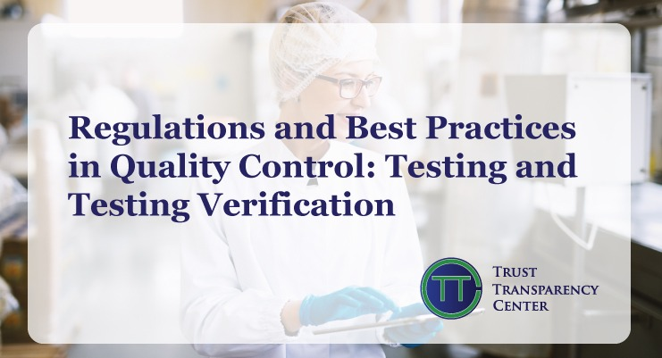 Read more about the article Regulations and Best Practices in Quality Control –Testing and Testing Verification