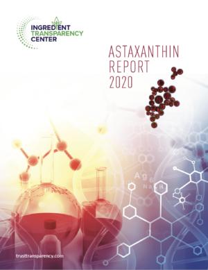 Astaxanthin Report