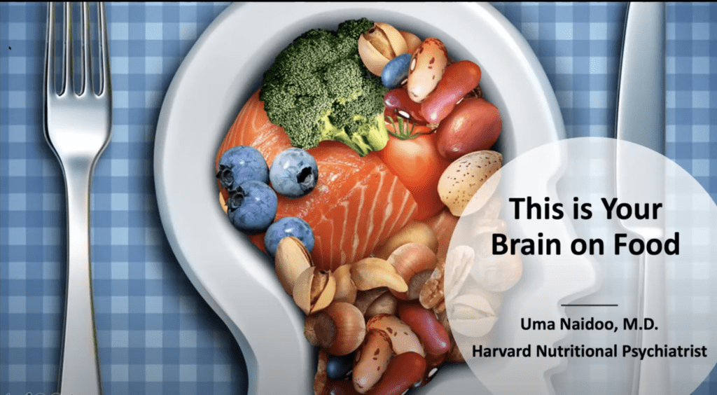 Dr. Uma Naidoo This is Your Brain on Food Naturally Informed