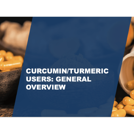 *NEW* 2021 Consumer Supplements Survey: Curcumin Category Report