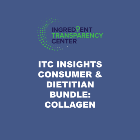 ITC Insights Collagen Category Consumer & Dietitian Bundle