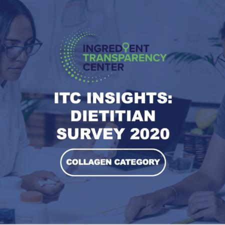 ITC Insights: 2020 Dietitian Survey – Collagen