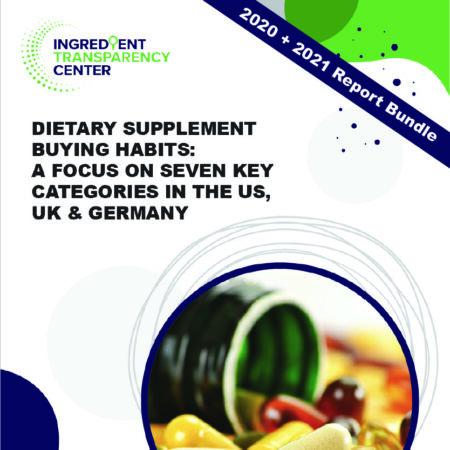 Global Supplement User Buying Habits Report: 2020 + 2021 Bunde